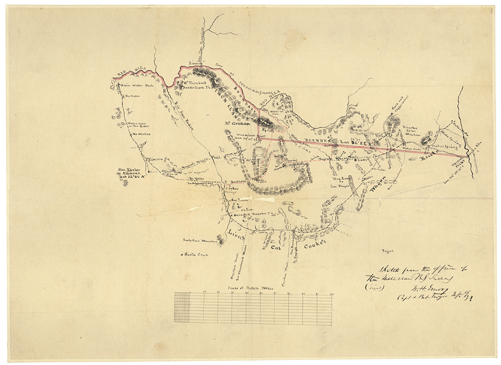 the treaty of guadalupe hidalgo mandated that a boundary commission survey and mark the border between