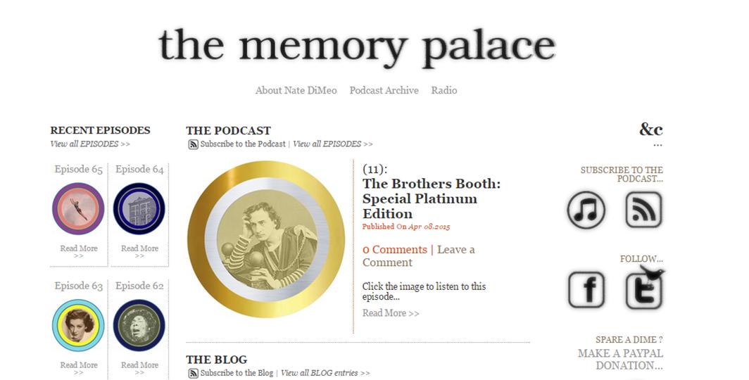 the memory palace - US History Scene
