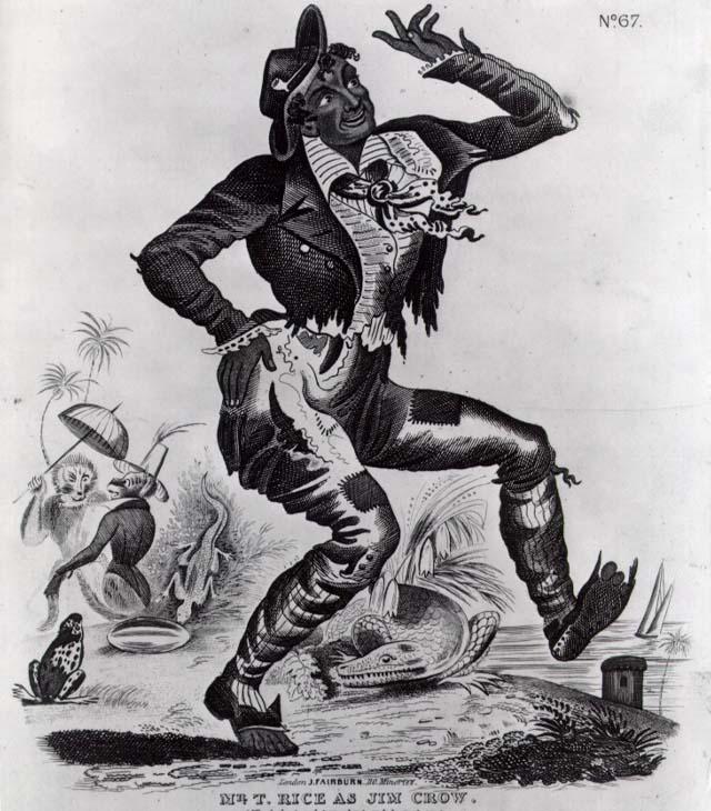 Jumpin Jim Crow Zip Coon In Blackface America Photographic