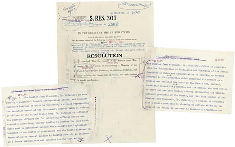 Senate Resolution 301