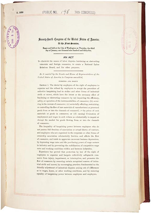 National Labor Relations Act (1935)