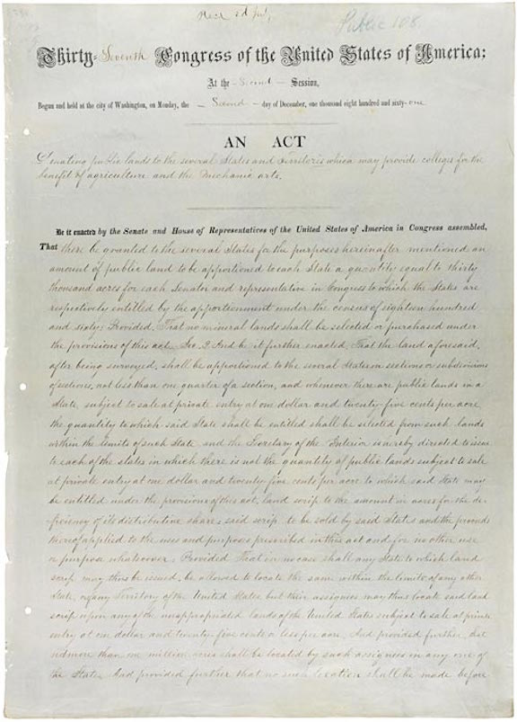 Morrill Act (1862)