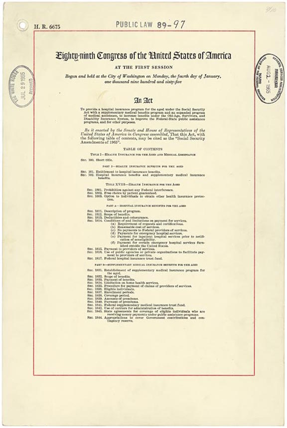 Social Security Act Amendments (1965)