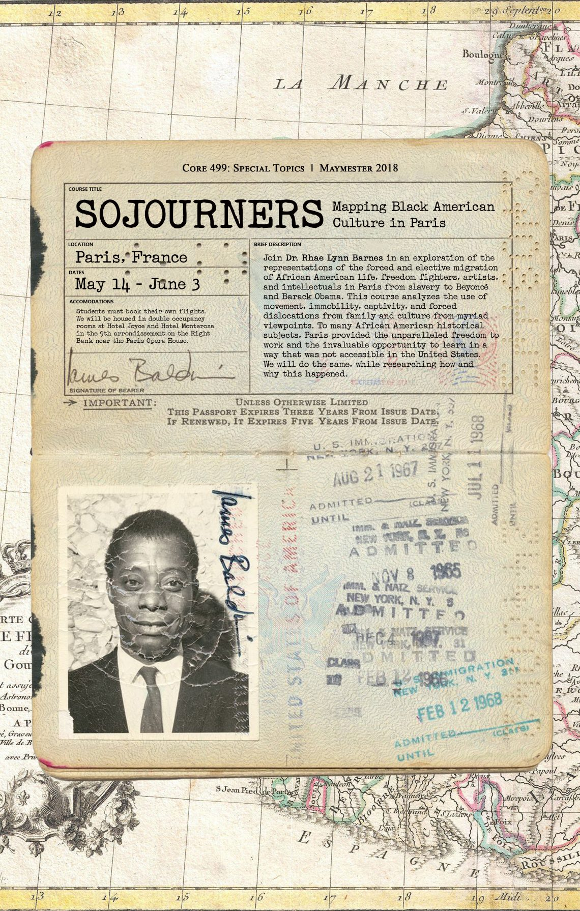 SOJOURNERS: Mapping Black American Culture in Paris